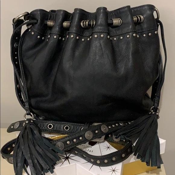 👛Danier leather crossbody purse👛